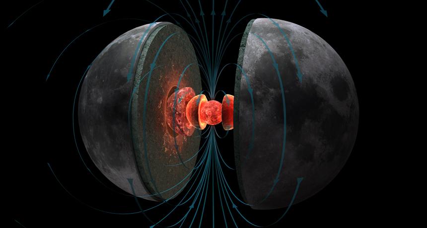 Magnetismo lunare: una storia da riscrivere