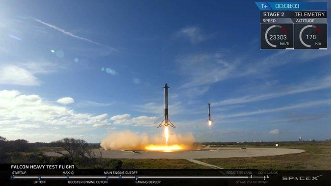 Falcon Heavy, il lancio più bello di sempre