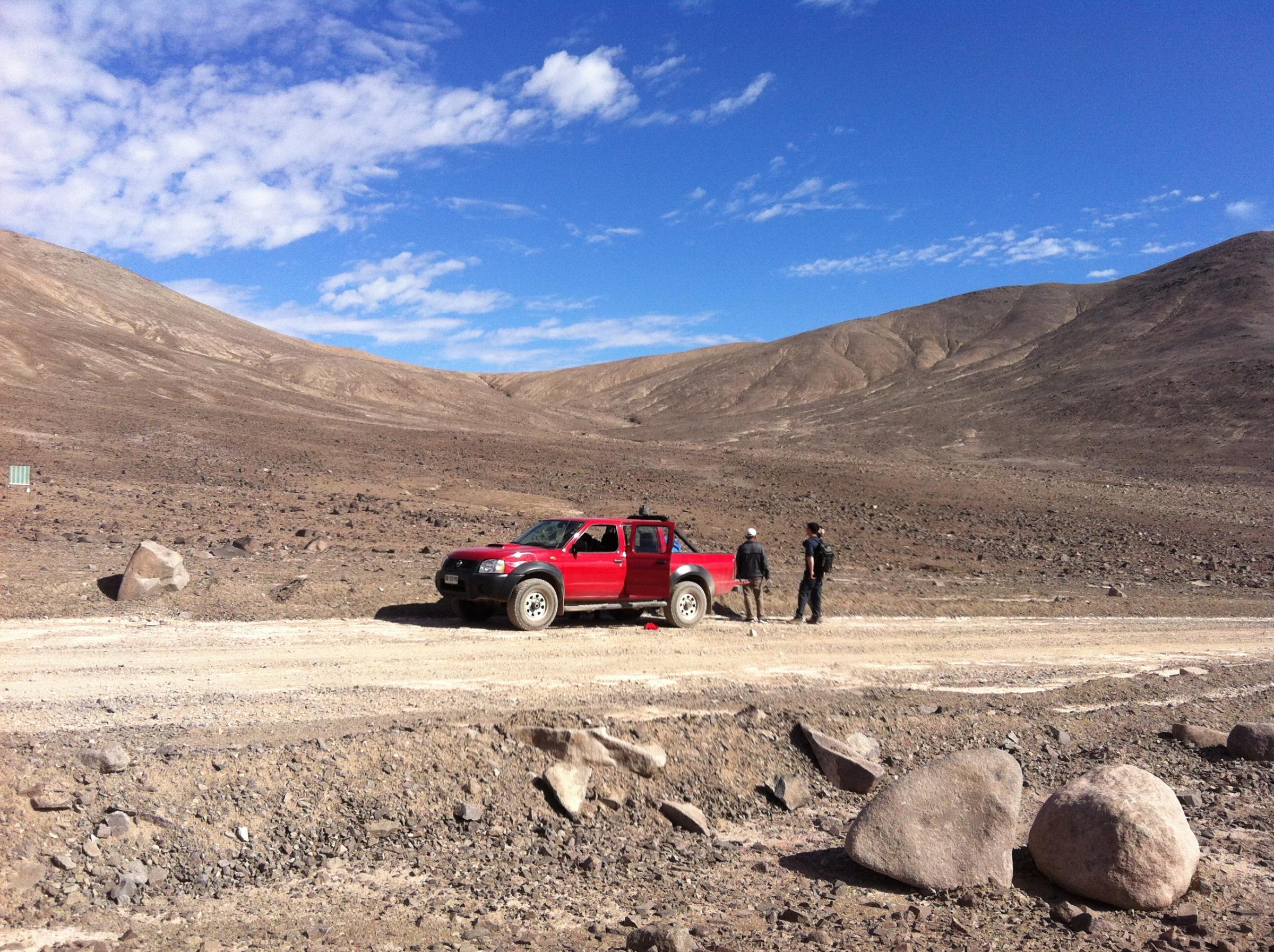 Vita nel deserto cileno: speranze per Marte?