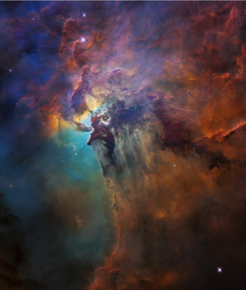 Il Mostro Della Nebulosa Laguna Media Inaf