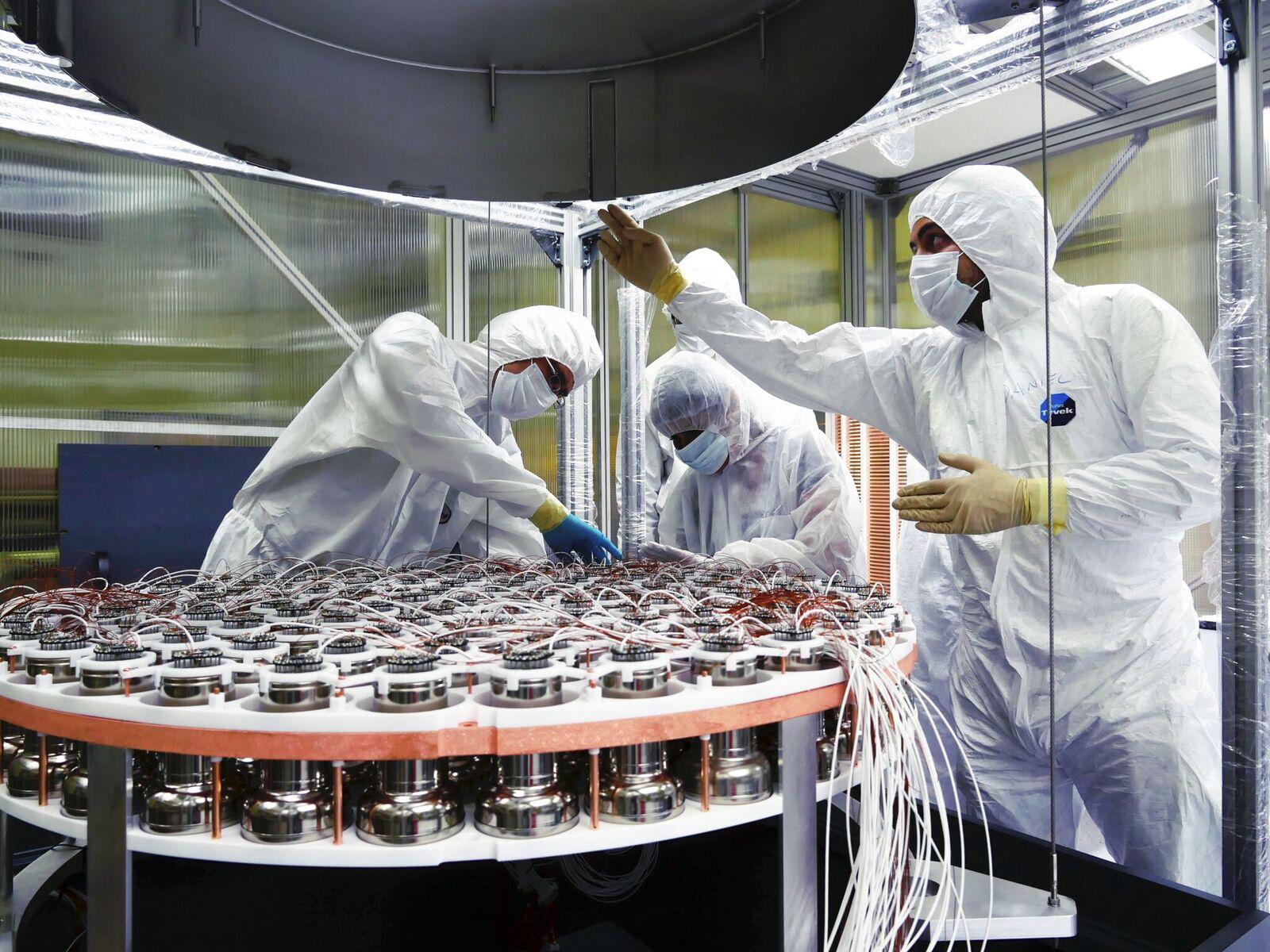Materia oscura, i nuovi dati di Xenon1T