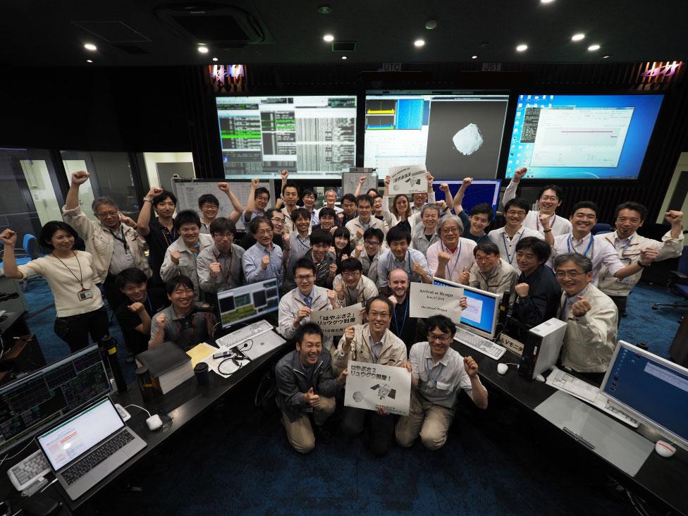 Ryugu, ci siamo: la sonda è giunta alla meta
