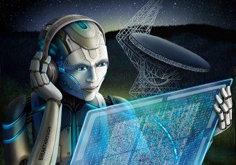 Intelligenza artificiale a caccia di ET