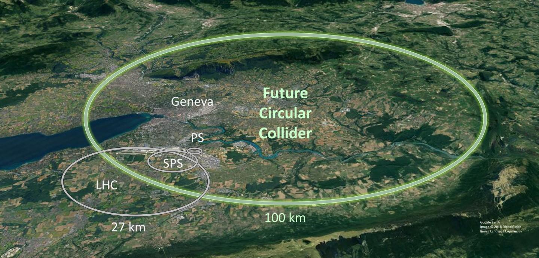 Lhc ha un erede designato: un anello da 100 km