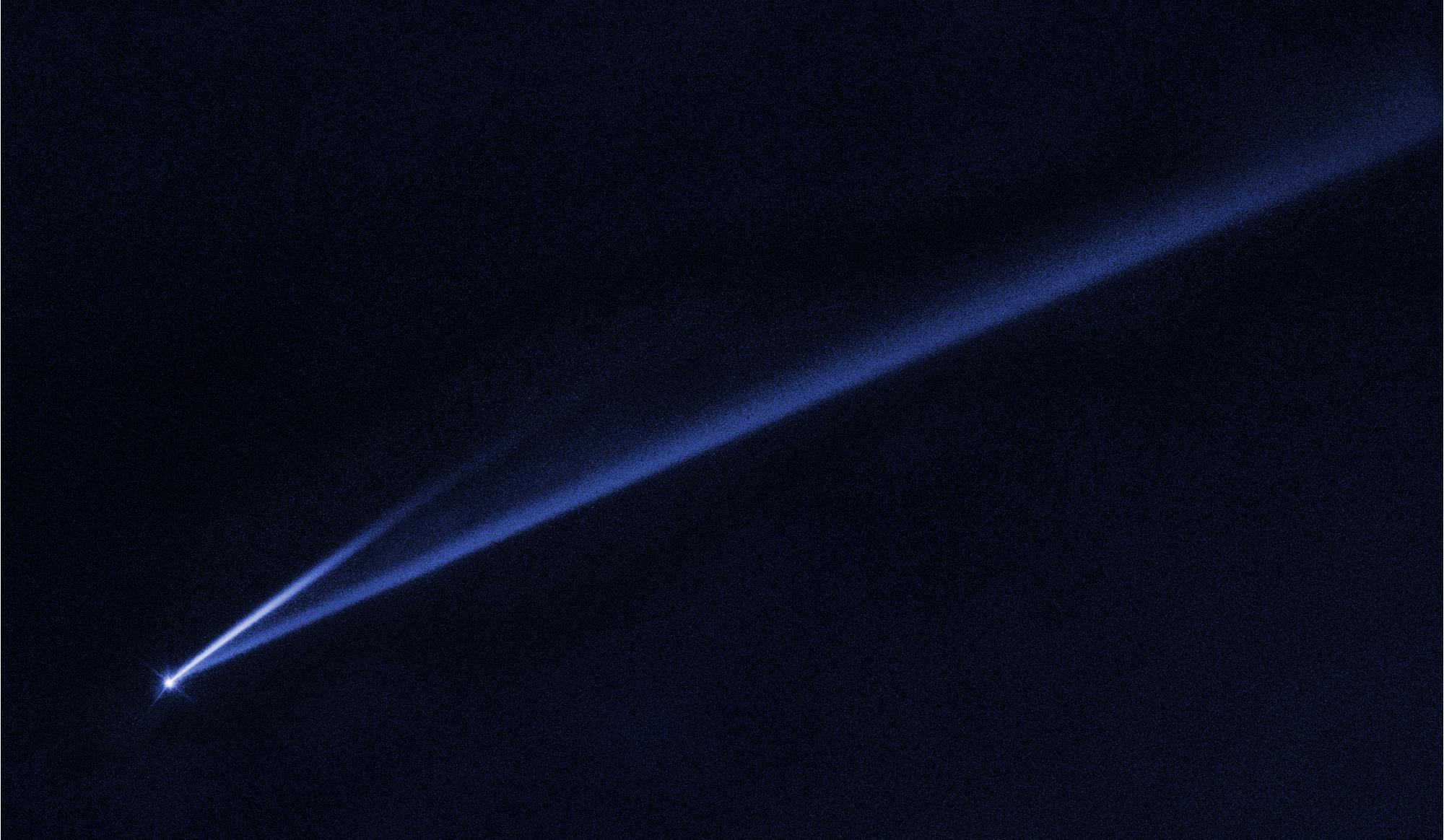 Asteroide condannato all'autodistruzione