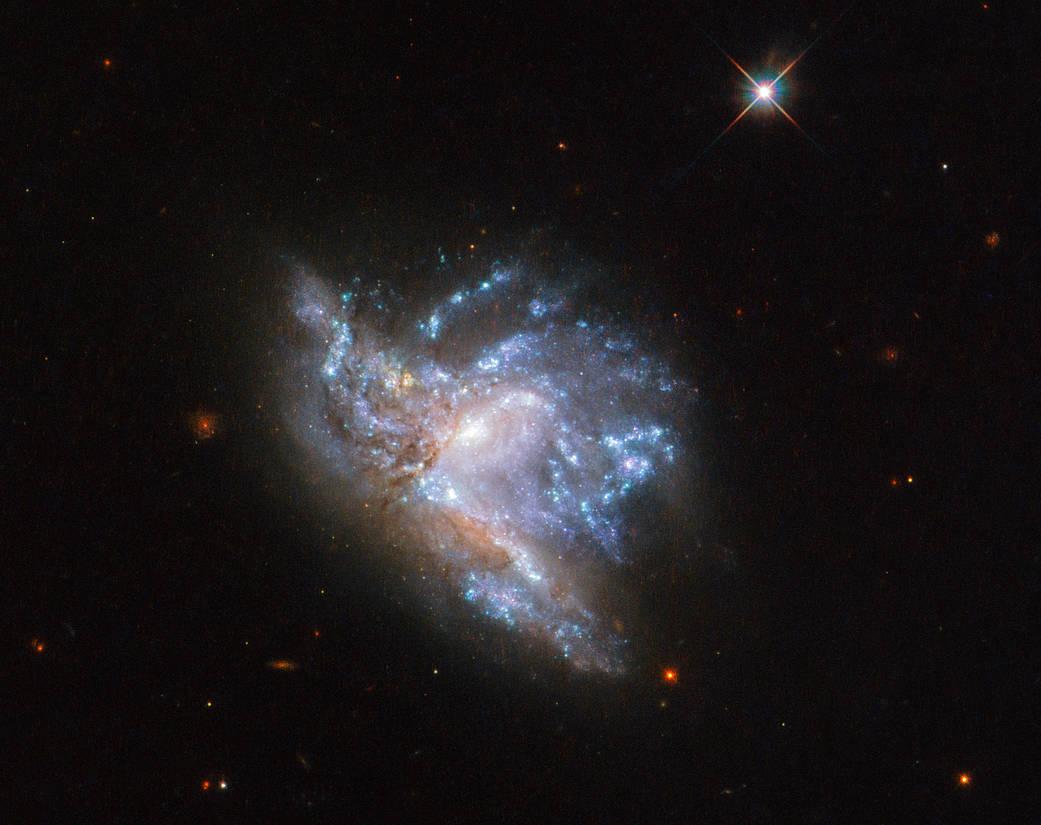 Di due galassie una
