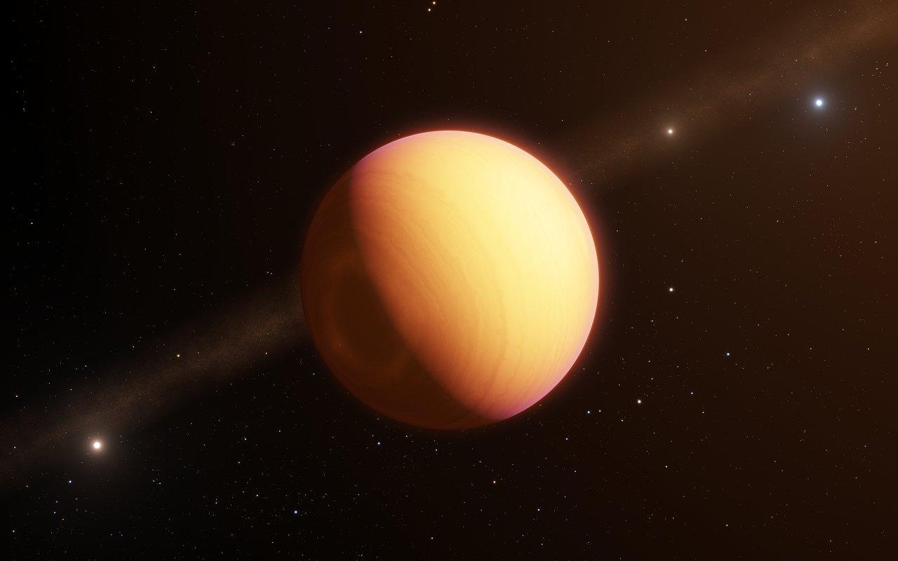 Ritratto interferometrico di pianeta tempestoso