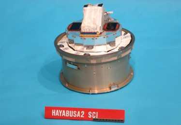 Hayabusa-2 ha sparato il suo proiettile