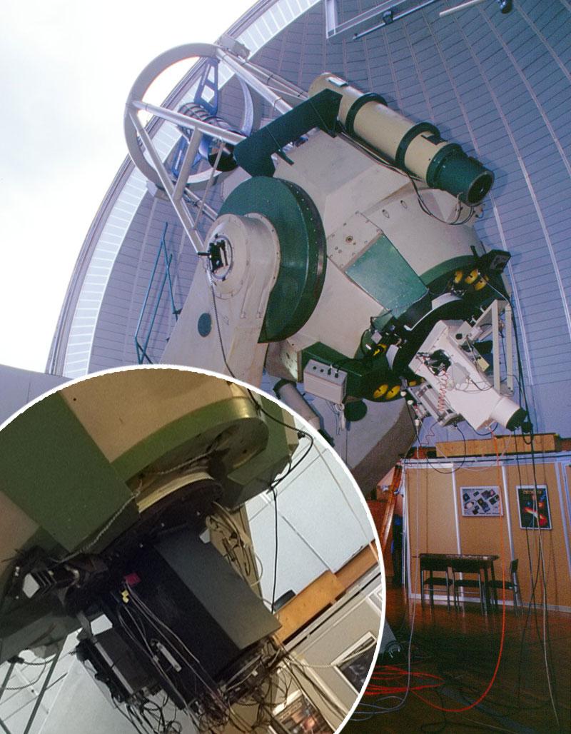 Aqueye+ conta i fotoni della millisecond pulsar
