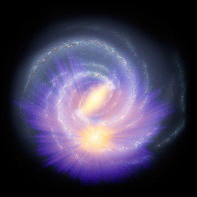 Prima mappa 3D della barra della Via Lattea