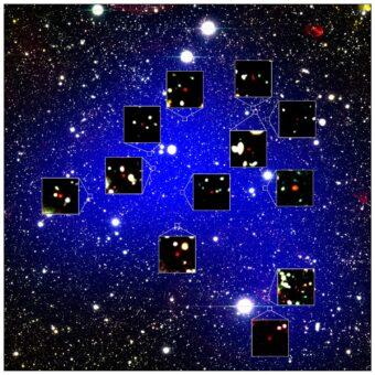 Trovato l'ammasso di galassie più antico