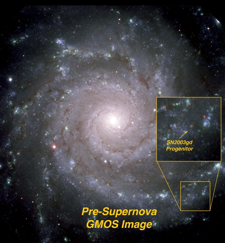 Assioni e progenitori di supernove