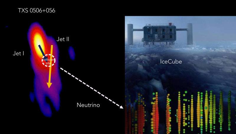Quel neutrino nato da un incidente cosmico
