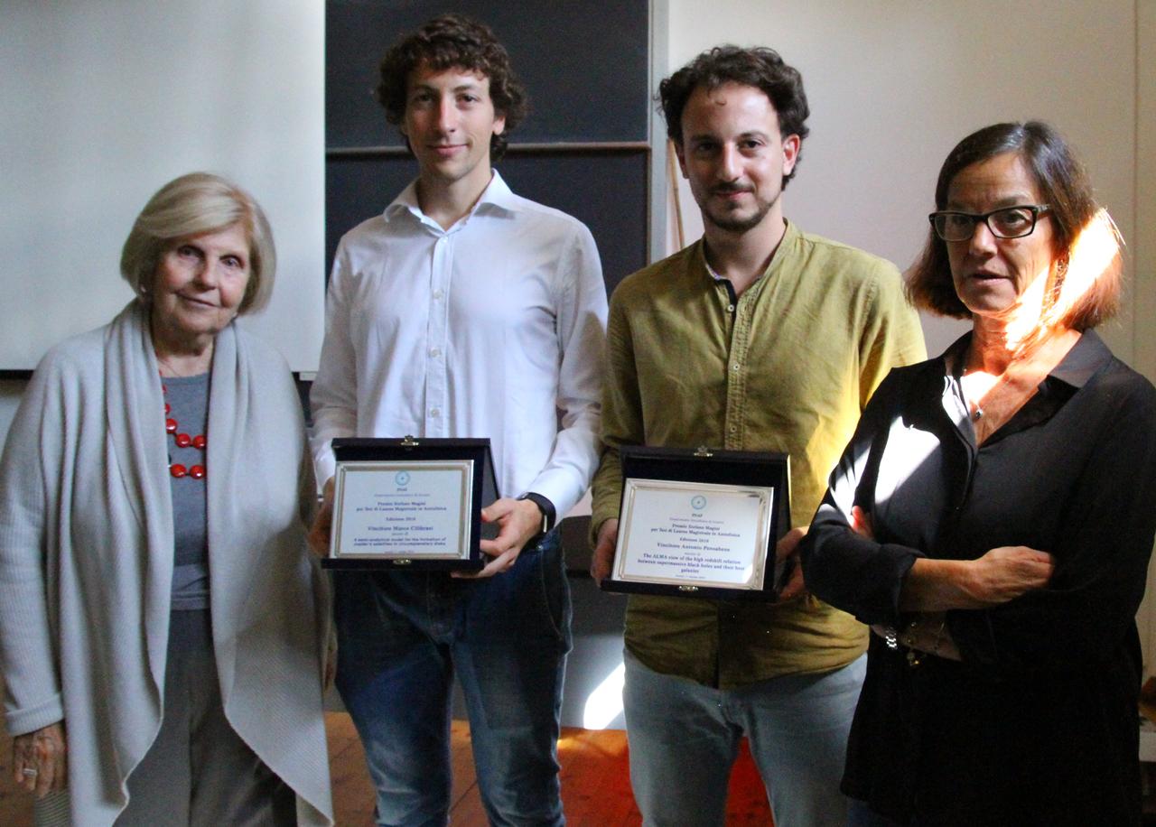 """Premio """"Magini"""" a Cilibrasi e Pensabene"""