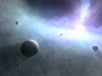 Sistemi planetari attorno a buchi neri | MEDIA INAF