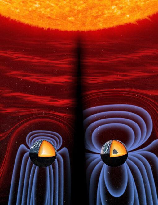 Sistema solare : Sole et Luna  Earth-inner-core-comparison-510x664