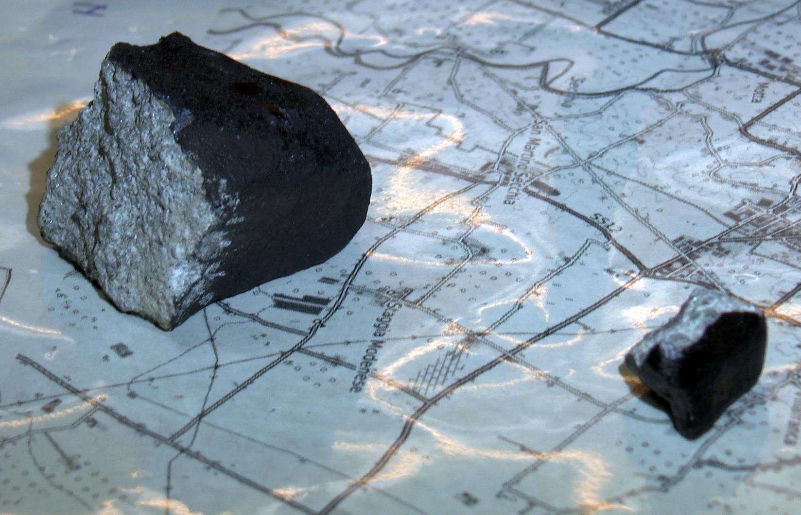 Trovati frammenti della meteorite di Capodanno | MEDIA INAF