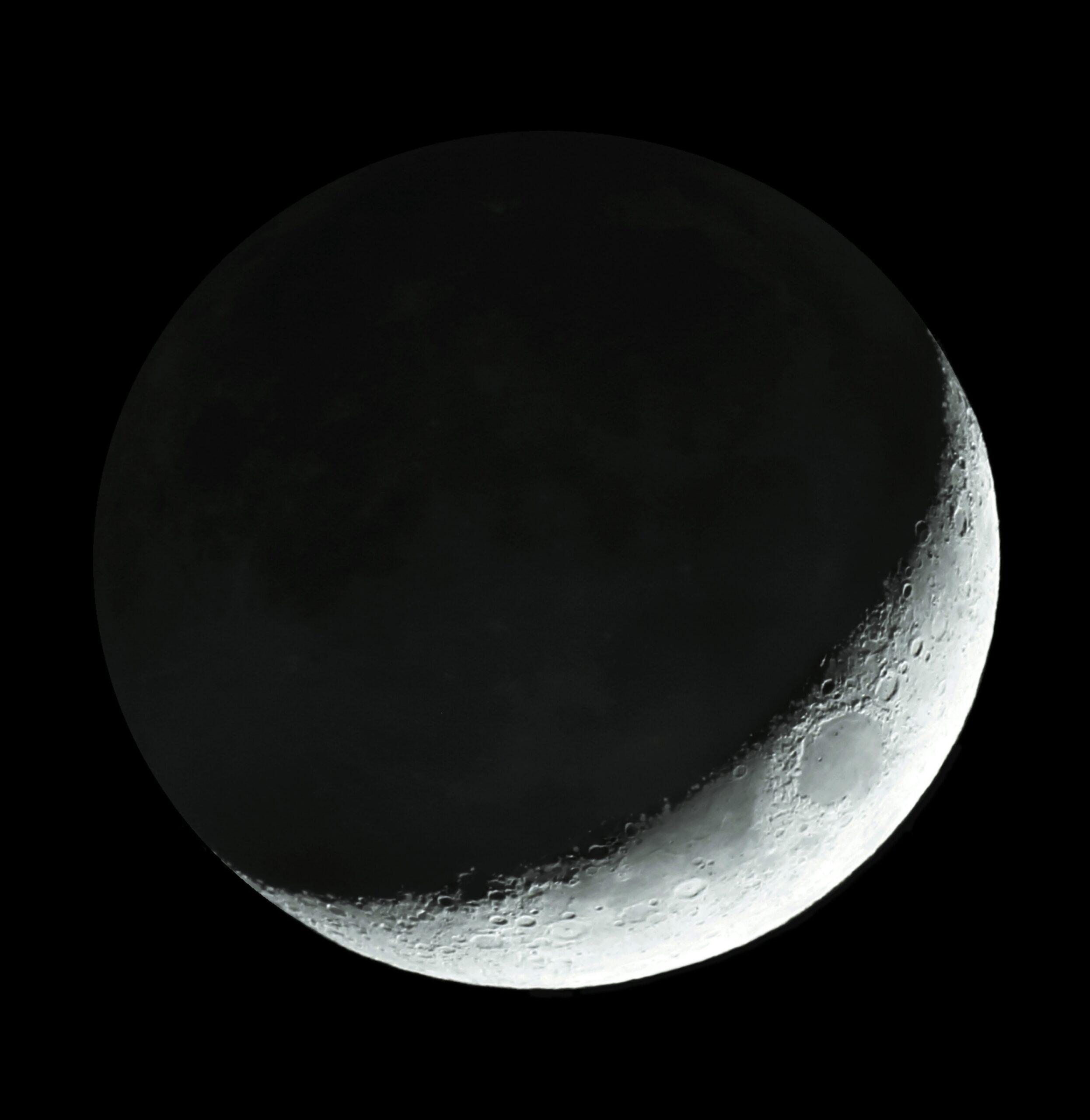 Falce di luna nuova sull'inizio d'un nuovo cammino | MEDIA INAF