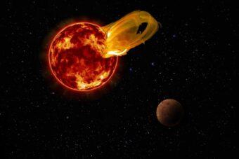 Superflare da Proxima Centauri