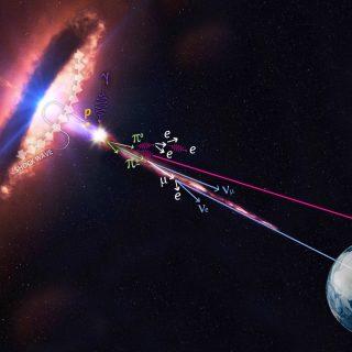 Alle origini del neutrino extragalattico