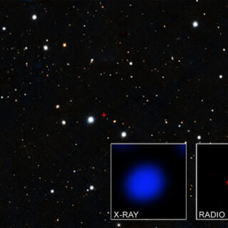 Quel quasar col mantello a ridosso del Big Bang