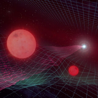 Doppia lente gravitazionale per Gaia16aye