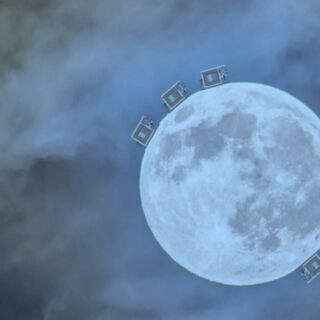 Onde gravitazionali, un rivelatore sulla Luna