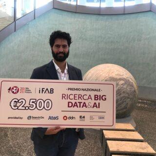 A Nicolò Parmiggiani un premio per il deep learning