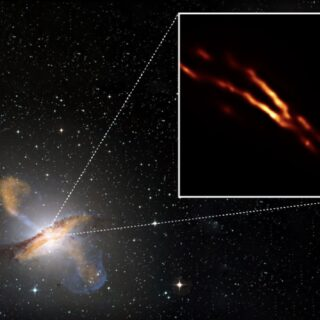 Mirando al cuore nero del Centauro