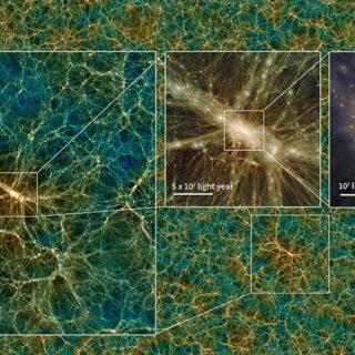 Uchuu, l'universo virtuale più grande mai creato